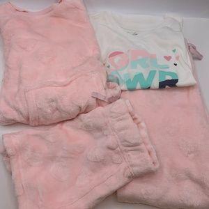 BCBG Girls Kids Sleep Pajama PJ Set 4-Piece